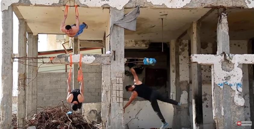 One of the World's Toughest Gyms is in Palestine -