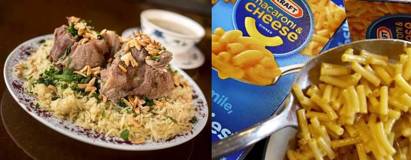 Mensaf vs. Mac and Cheese -