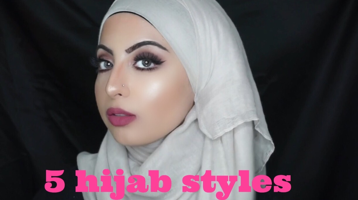 5 Easy Hijab Styles -