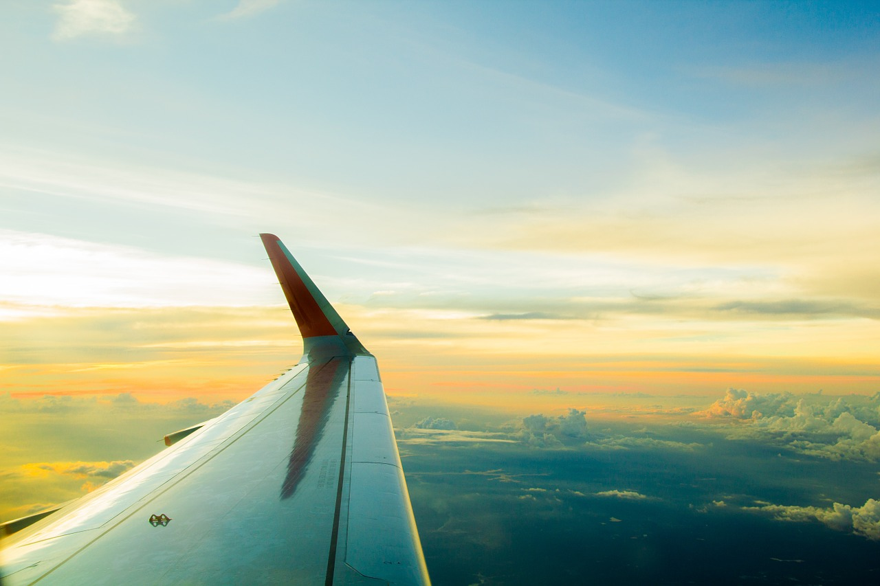 Healthy Snacking from 40,000 Feet Above! -