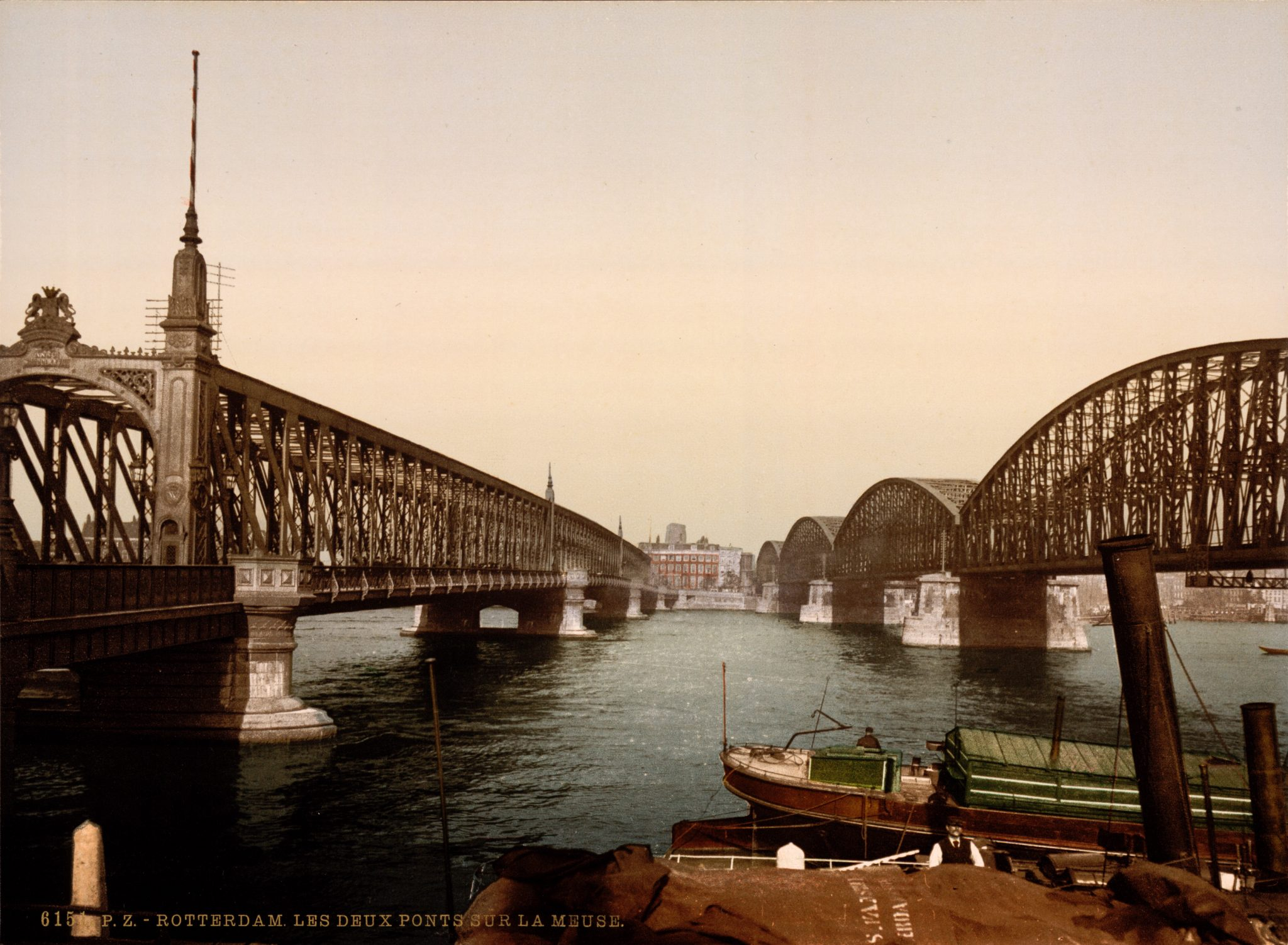 Two Bridges and a Mosque -