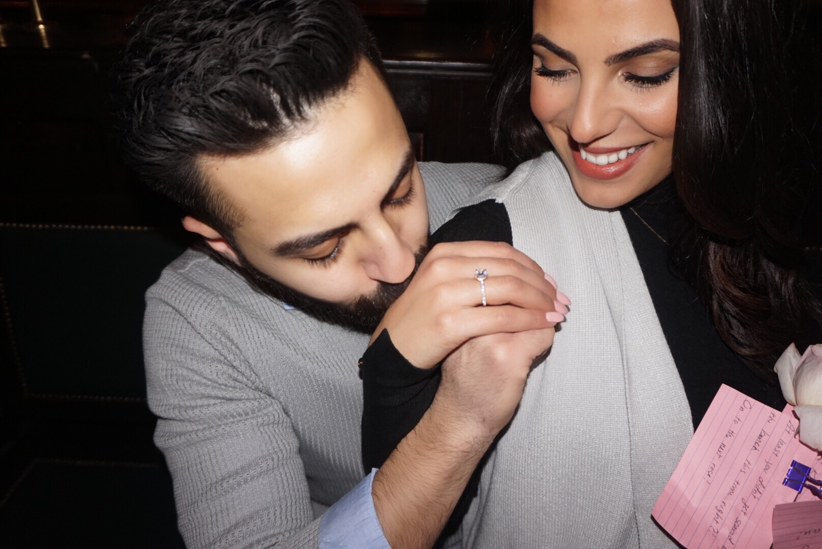He Proposed - Twice -