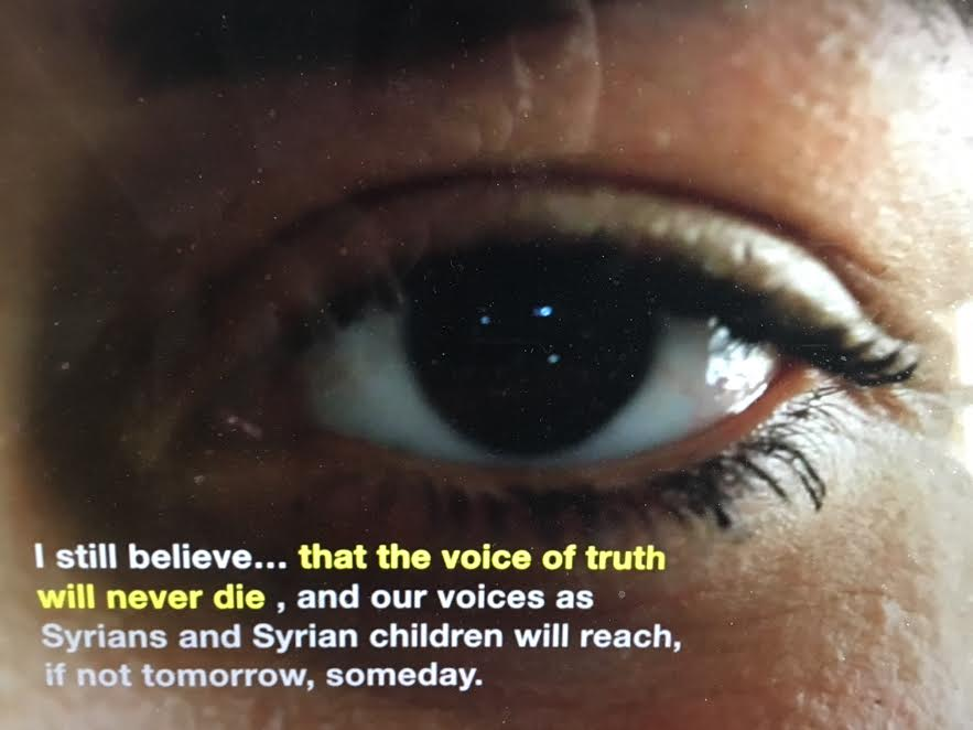 #MeWeSyria: Using the Power of Storytelling for Change and Healing -