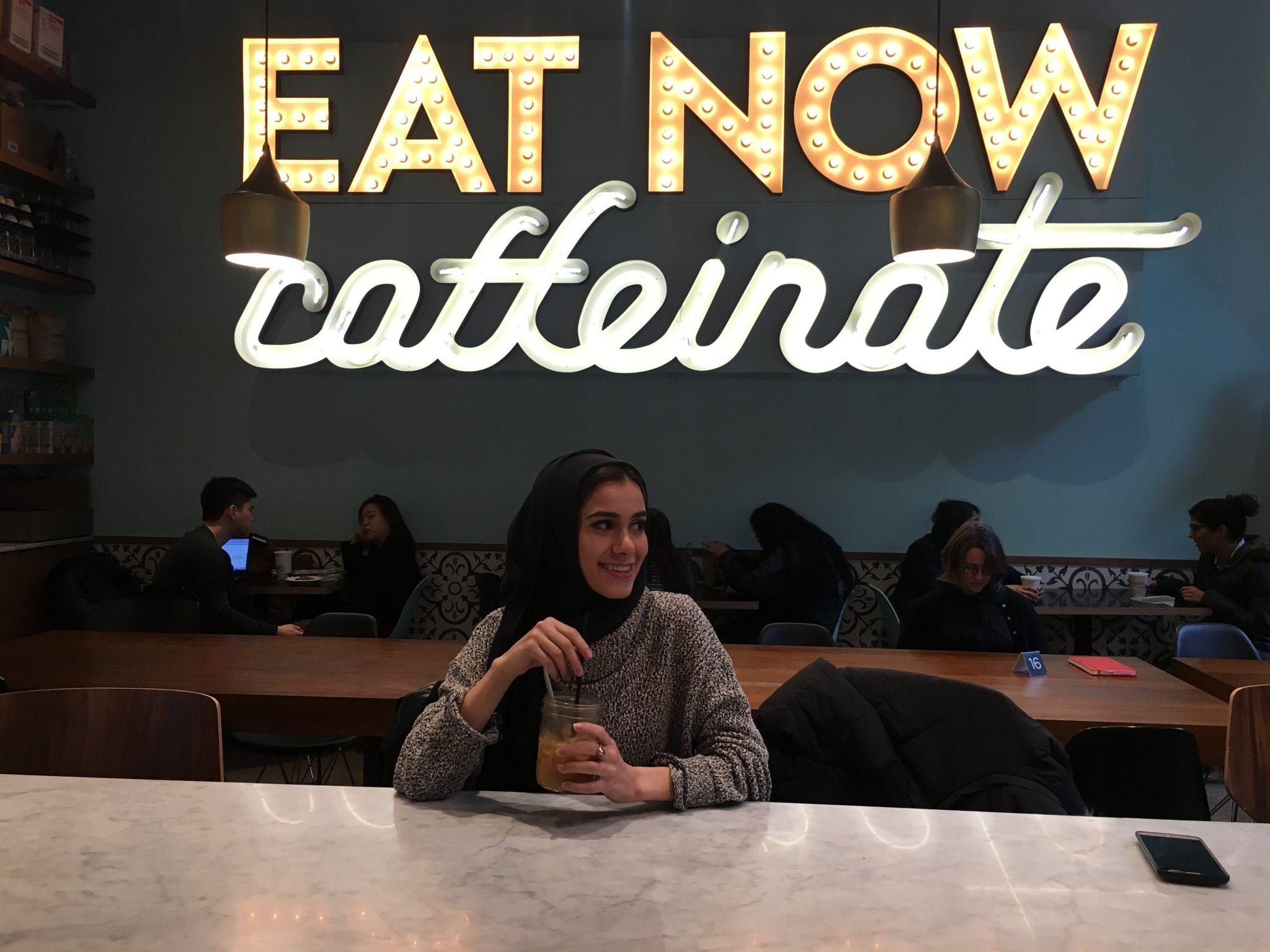 Coffee Talk, Cool Tones and Rainbow Cake -