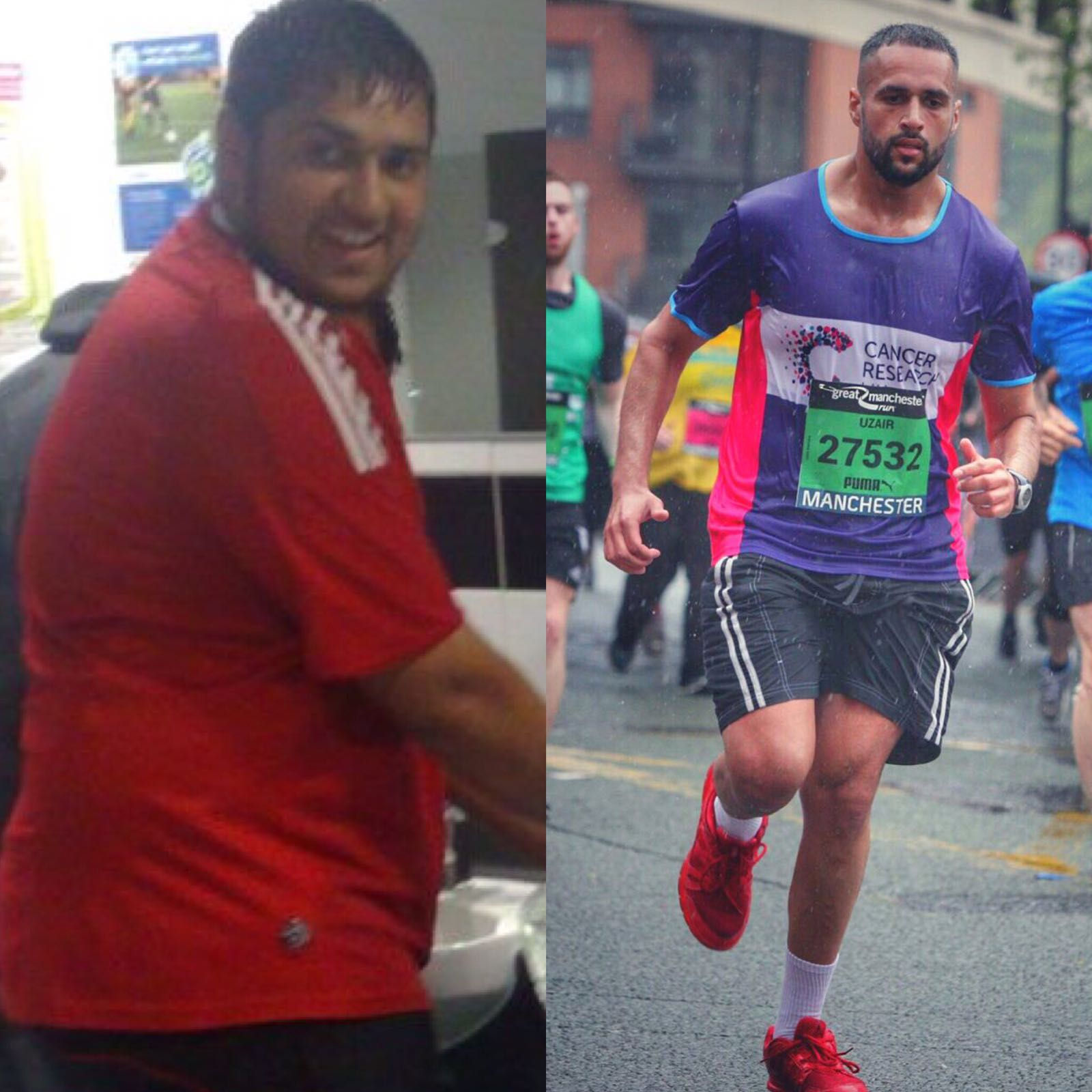 #TeamBeast: Inspired by Uzair Shafique's Personal Journey to Health and Fitness -