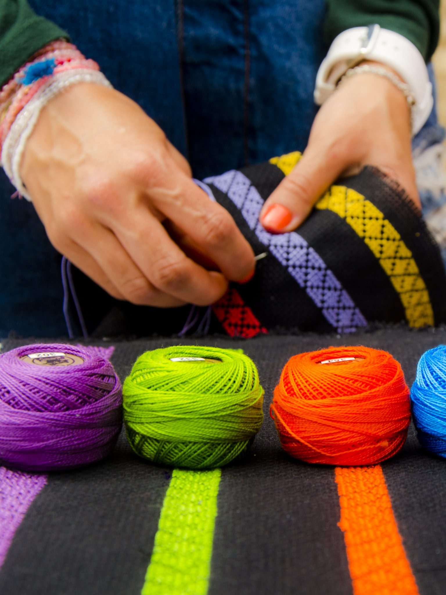 Creating Opportunities for Marginalized Women through Fashion and the Art of Embroidery -