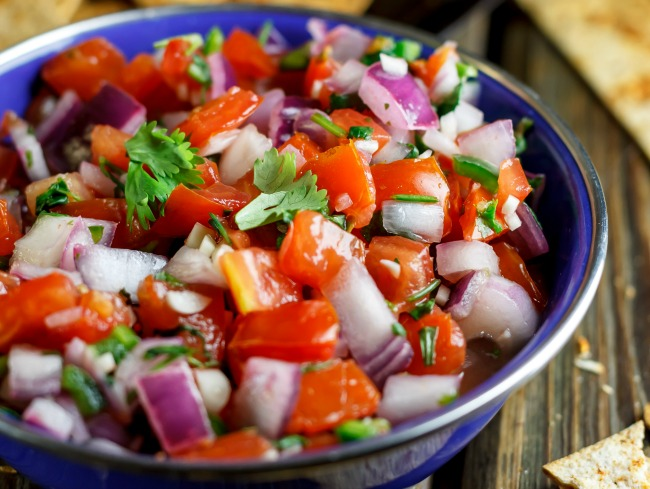 A Healthy Take on Chips and Salsa - Your New Favorite Summer Snack -