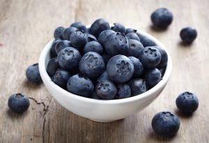 The Perfect Blueberry Mint Smoothie -