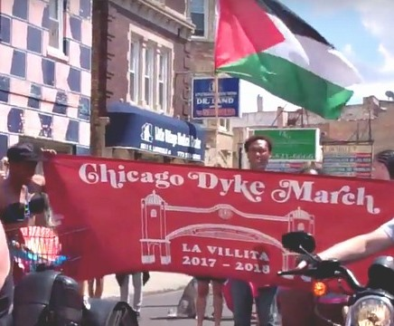 In Solidarity with Palestine and the Chicago Dyke March -