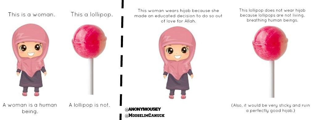 My Muslim Sister, You Are Not an Unwrapped Lollipop -