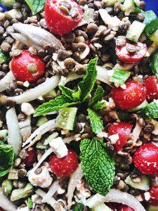 Refreshing Lentil Salad -