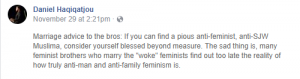 My Version of Islam is a Feminist One -