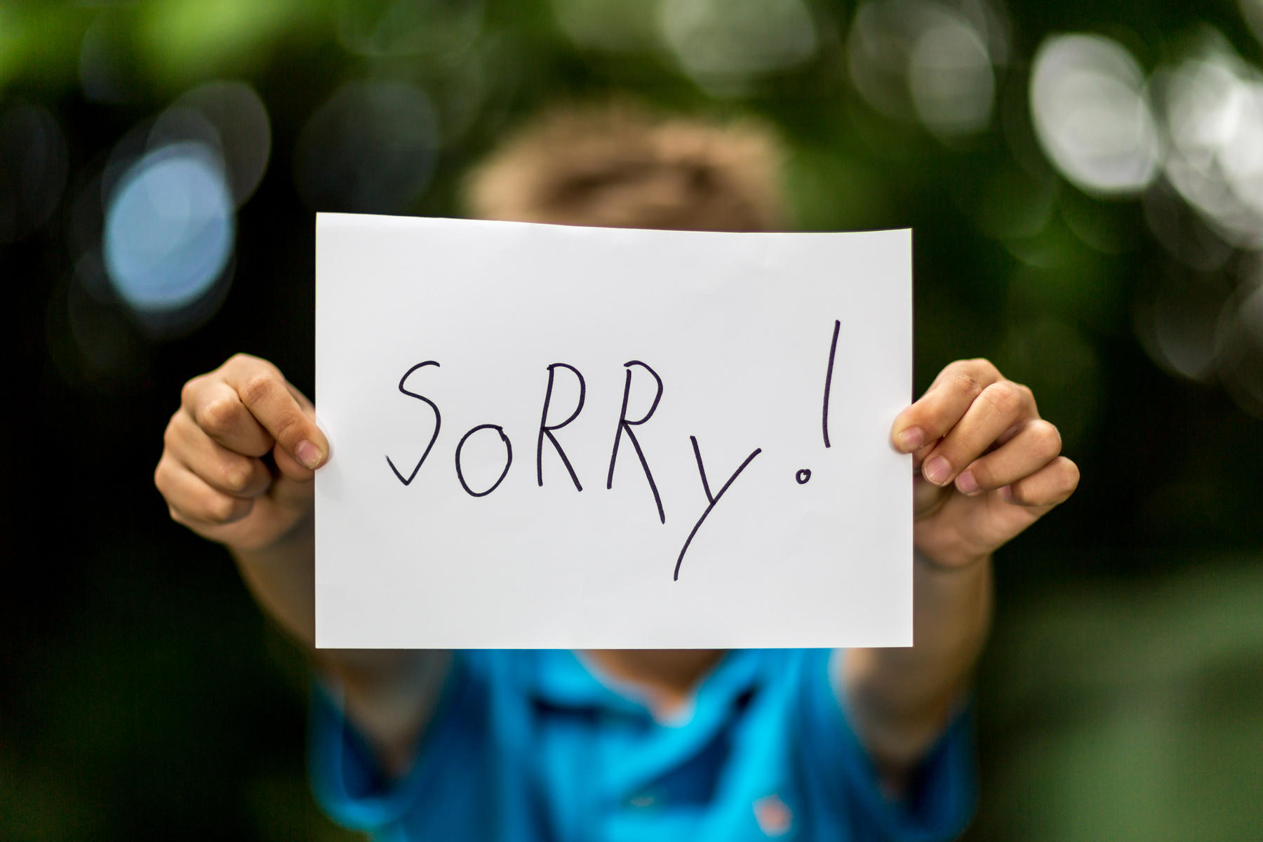 "We Shouldn't Be Teaching Kids to Say ""I'm Sorry"" -"